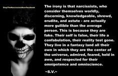 Narcissistic Abuse: The Irony