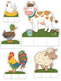 Animal Activities, Preschool Activities, Farm Crafts, Animal Crafts For Kids, Extinct Animals, Farm Theme, Animal Facts, Early Childhood Education, Paper Toys
