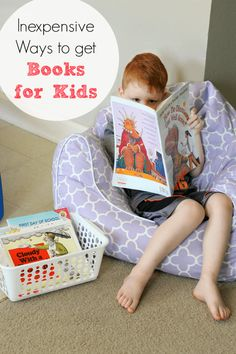 Inexpensive Ways to Get Books for Your Kids