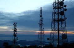 These towers look so enchanting that they need not be masked. Can you find a photo where a cell tower actually enhances the beauty of the landscape? Share with us on our FB page, Lease Advisors! #Telecommunications #cellTowers #wirelessTowers