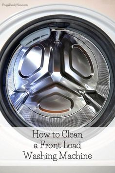 I owned a top loading washer for years until one day it finally quit. It was old about 25 years so it had a long life.   To save on our water bill, we went with a front loader. But no one told me about the stink that would come.   Here's how to clean a front load washing machine and get rid of that awful smell. http://www.frugalfamilyhome.com/home/homemaking/clean-front-loading-washing-machine