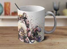 Tobjorn Overwatch Mug Overwatch Coffee Mug Color Changing Mug Magic Mug OV-17 #Handmade