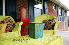i love my front porch in the spring/summer/fall. . and warmer winter days! :)
