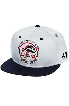 The Lifted State of Mind Snapback in White by LRG Core Collection Fly Gear, Dope Hats, Core Collection, Snapback, Latest Fashion, Baseball Hats, How To Wear, Shopping, Style