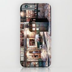 Tardis in The Old Town iPhone 6s Slim Case