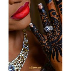 25 Stunning Images of Traditional Kenyan and Nigerian Bridal Henna Tattoos
