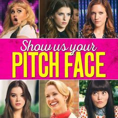 *Pitch Face* .-. Pitch Perfect 2, Anna Kendrick, Hilarious, Celebrities, Face, Movie Posters, Celebs, Film Poster, Hilarious Stuff