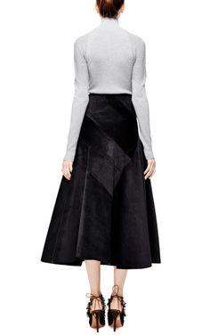 Spiral-Cut Courduroy Skirt by J.W. Anderson - Moda Operandi