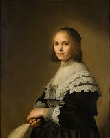 During the 17th century, the great economic and cultural growth of the Dutch Republic led to a rise in portraiture. The Dutch higher classes seemed eager to acquire portraits that would capture their image in eternity. One particular type was the marriage portraits, consisting of two pendant paintings of the married couple. These two examples were created by the famous portraitist of the period, Johannes Verspronck.