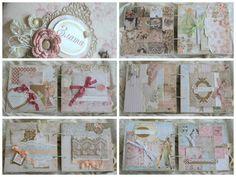 #scrapbooking #album #vintage #shabby #handmade #baby