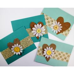 Daisy Hearts Card - Projects - Tips + Projects