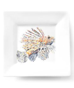 Kim Rody Creations Lionfish from Atlantis Porcelain Salad Plate | zulily