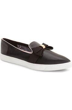 Ted Baker London 'Kylan' Bow Slip-On Sneaker (Women) available at #Nordstrom