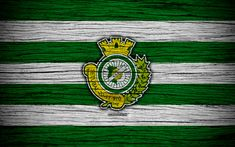 Download wallpapers Setubal, 4k, Portugal, Primeira Liga, soccer, wooden texture, Setubal FC, football club, logo, FC Setubal