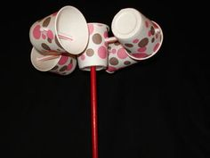 Cup anemometers are simple instruments used by meteorologists to measure wind speed. This set of instructions will guide you through the process of making a...
