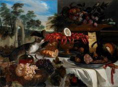 """""""Imbandigione all'aperto con gatta ladra"""" di Pier Francesco Cittadini (Milano, 1613/18 - Bologna, 1681)"""