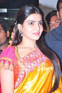 Cute Actress Samantha Ruth Prabhu
