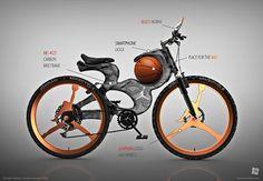 Michael Jordan Inspired Concept Bicycle