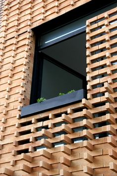Brick Pattern House - Tehran, Iran / 2011 / Alireza Mashhadmirza #facades