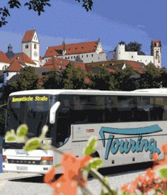 Europabus: You don't need to be on a driving holiday of Germany to experience the Romantic Road (Romantische Strasse).  If you don't like driving or only have a short time in Frankfurt or Munich, you can actually travel by bus and experience the Romantic Road.