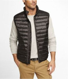 Express Mens Lightweight Down Vest $118.00 - Buy it here: https://www.lookmazing.com/express-mens-lightweight-down-vest/products/6143634