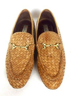 Talbots Shoes Brown Leather Loafers Womens 7.5 #Talbots #LoafersMoccasins #WeartoWork