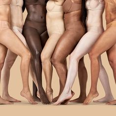 """So many colors of """"nude""""! I love it!"""