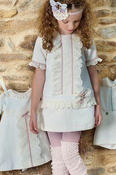 Colección Canastilla Marfil - Otoño Invierno 2013 2014 #modainfantil #kidswear #fashionkids #babyclothes #canastilla