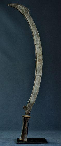 Beau Couteau Zande Congo Azande Knife ART Tribal Arts Premiers Africa Kongo…