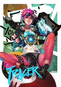 Punk Tracer by MonoriRogue.deviantart.com on @DeviantArt