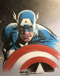 Captain America by Neal Adams