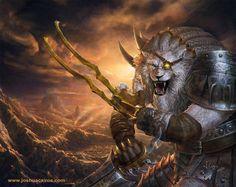 Rengar League of Legends by ~1oshuart on deviantART