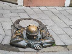 Mis ojos viajeros: Estatuas de Bratislava