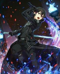 Kirito (Kazuto) - By Sword Art Online ღ