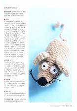 návod na myš Crochet Hats, Amigurumi, Knitting Hats