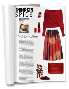 """Not just coffee..."" by byvette ❤ liked on Polyvore featuring Bottega Veneta, Alexander McQueen, House of Harlow 1960, Gianvito Rossi and Giorgio Armani"