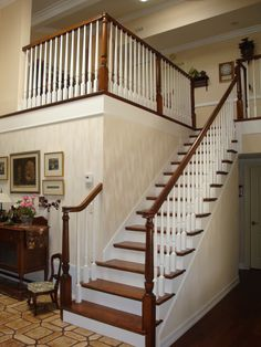 These Stairs were completely done by Rite-loom.