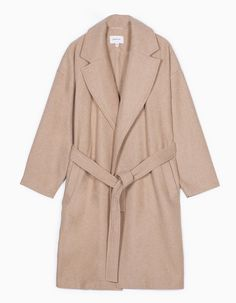 At Stradivarius you'll find 1 Belted wool coat for woman for just 29.99 United Kingdom . Visit now to discover this and more ALL.