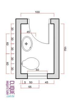 Banheiro Ergonomia Circula O Clique Arquitetura