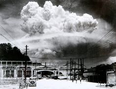 """In einer Höhe von 580 Metern explodierte die Atombombe """"Little Boy"""" am 6. August 1945 um 8.15 Uhr Ortszeit über Hiroshima."""
