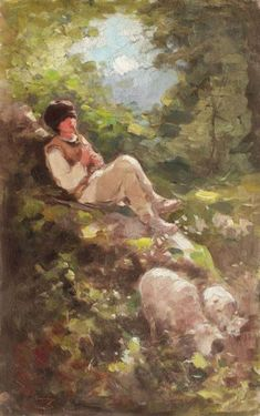 Satyr, Culture, Wolves, Europe, Portraits, Paintings, Beautiful Paintings, Character, Painters