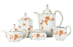 Tea & Coffee Service Set - 9 Pcs - La Maison Supreme