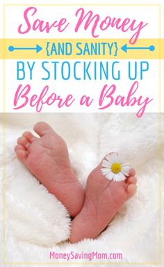 Guest post by Mary of Giving up On Perfect I'm 30 weeks pregnant and more than a little panicked. The nursery isn't set up. We don't have a stroller. And, although we have all the bedding, blankets and burp cloths we …