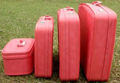 traveling in fashion... cute luggage