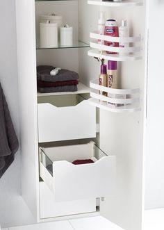 Smarte løsninger til små bad Ladder Bookcase, Ikea, Shelves, Bathroom, Furniture, Home Decor, Diy, Washroom, Shelving