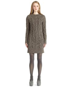 Donegal Cable Knit Dress     $318.00