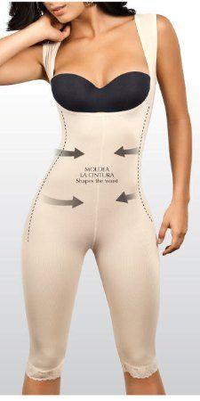 b2c865b9855c $63.95 Bra-less capri body shaper that molds your body into the perfect  silhouette.