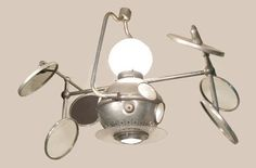 antique surgical light | Vintage Industrial OPERAY MultiBeam Surgical Lamp Machine Age Modern ...
