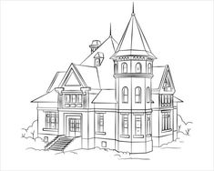 House Coloring Sheets victorian house coloring page free printable coloring pages House Coloring Sheets. Here is House Coloring Sheets for you. House Coloring Sheets pin betty san on houses buildings villages quilt. House Coloring S. House Colouring Pages, Easy Coloring Pages, Free Printable Coloring Pages, Coloring Sheets, House Sketch, House Drawing, Captain America Coloring Pages, House Outline, Building Drawing