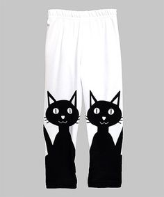 Another great find on #zulily! Black Cats Leggings - Infant, Kids & Tween #zulilyfinds